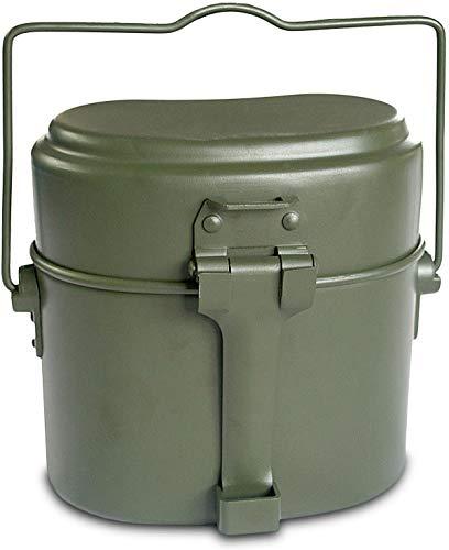 normani Bundeswehr Aluminium Kochgeschirr Farbe Grün
