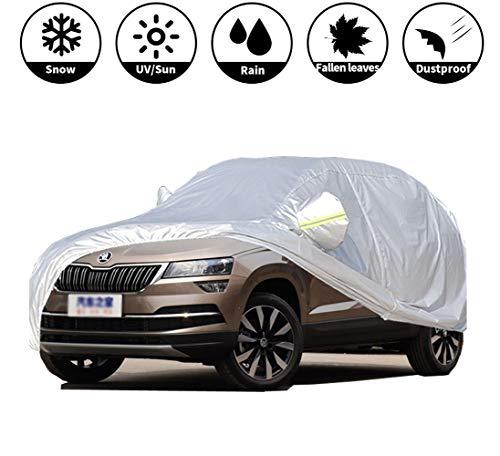 Autoabdeckung Hagelschutzplane Auto - SUV Autohülle Allwetterkompatibel Mit Sk-od-a KA-RO-Q - Car Cover Mobile Garage Sonnenschutz Wasserdicht das Ganze Jahr Staubdicht