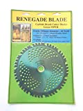 Renegade Blade 1 Blade 8'-44t (Green) Viper/Hybrid - Brush & Brambles Specialty - GS1 Barcode Shelf Hanging Blister Pack - Carbide Brush Cutter Weed Eater Blades, 203mm Diameter