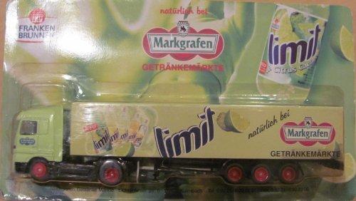 Markgrafen Getränkemarkt Nr.49 - Franken Brunnen Limit - MB Actros - Sattelzug