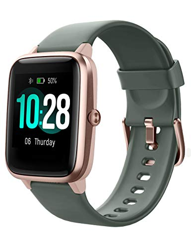 YAMAY Smartwatch Orologio Fitness Donna Uomo Smart Watch Android iOS Contapassi Cardiofrequenzimetro da polso Orologio Sportivo Bluetooth Touch Conta Calorie Activity Tracker IP68 con Cronometri