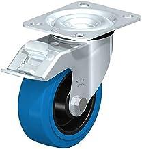 """Blickle LE-POEV 100R-FI-SB Swivel Caster, 3.94"""" Wiel diameter, 330 lb. Draagvermogen"""
