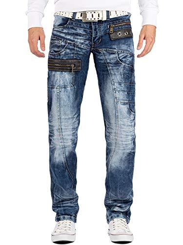 Kosmo Lupo Herren Jeans Hose KM012 W36/L34