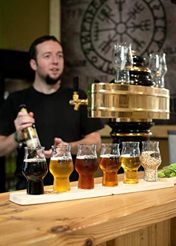 WACKEN BRAUEREI Craft Beer Box 14 x 0,33 l verschiedene Sorten + Bierglas BEER OF THE GODS | GÖTTERGABE | Viking Craftbeer Set Gift for Men | Wikinger Kraft Bier Geschenk für Männer | Party Festival - 6