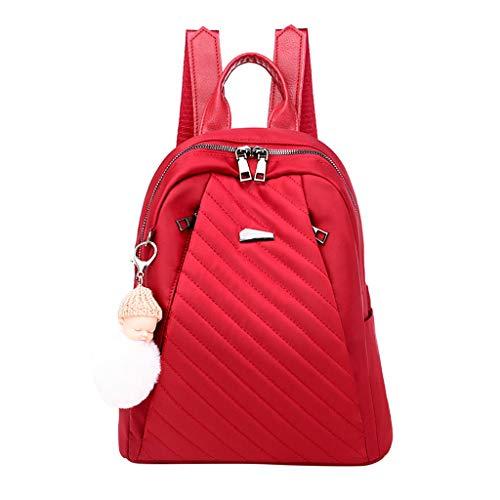 H.eternal(TM) Mochila ligera para mujer con mochila de viaje para mujer, mochila impermeable y antirrobo, bolsa de hombro de ocio, portátil, bolsa de cosméticos