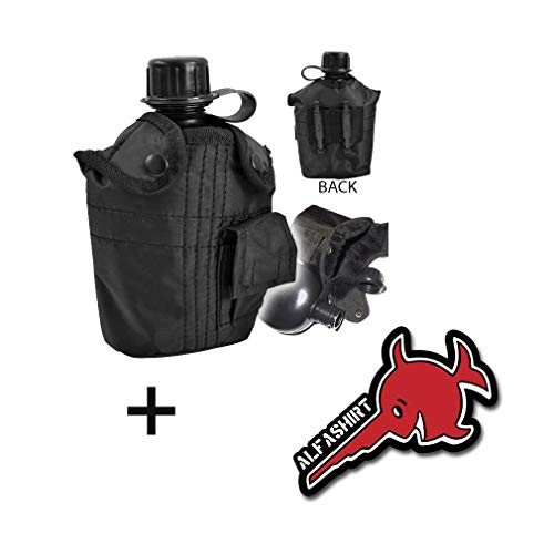 Copytec US Feld Flasche Outdoor 1Liter Trinkflasche Bw Tactical Survival Überleben#16333