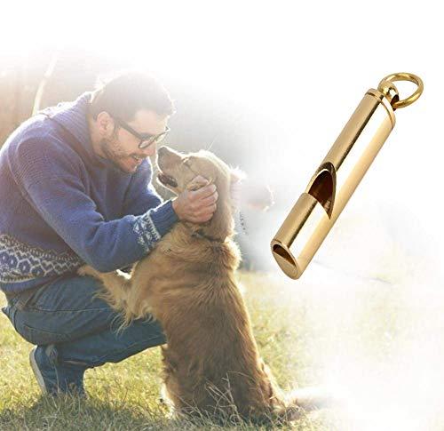 Sheens Silbato para Perros, aleación de Aluminio, ultrasónico, Entrenamiento de pájaros, Silbato, Entrenador de Comportamiento de Palomas con Anillo