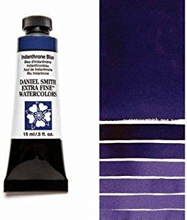 Daniel Smith Extra Fine Watercolor Colors Tube, 15ml, (Indanthrone Blue)
