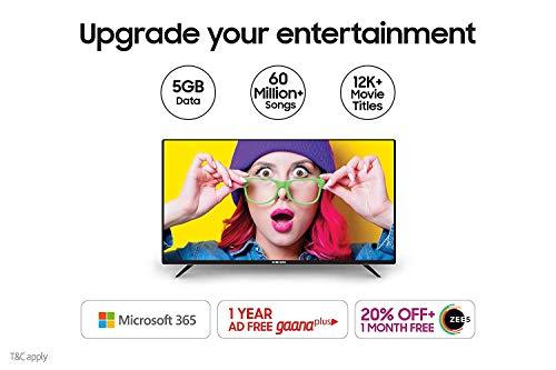 Samsung 80 cm (32 Inches) Wondertainment Series HD Ready LED Smart TV UA32T4340AKXXL (Glossy Black) (2020 Model)