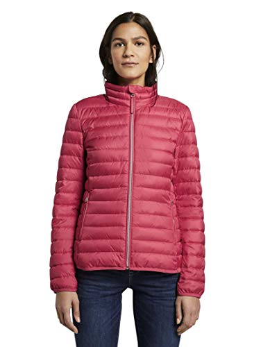 TOM TAILOR Damen Jacken & Jackets Leichte wattierte Steppjacke Blushing pink,L