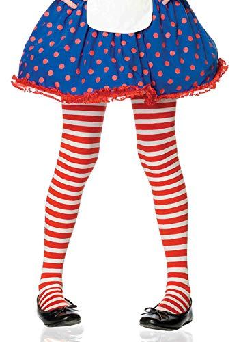 Leg Avenue Collants à rayures pour fille - - XL