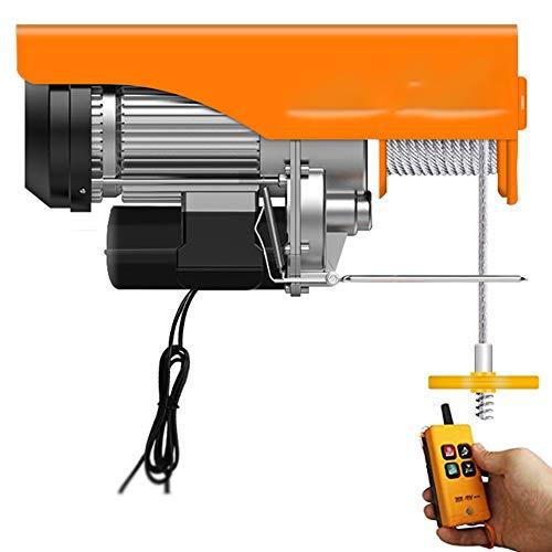 WUK Polipasto eléctrico 510W / 600W / 850W con Control Remoto inalámbrico...