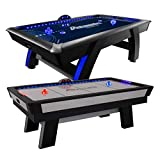 Atomic Top Shelf 7.5' Air Hockey Table with 120V Motor for Maximum...