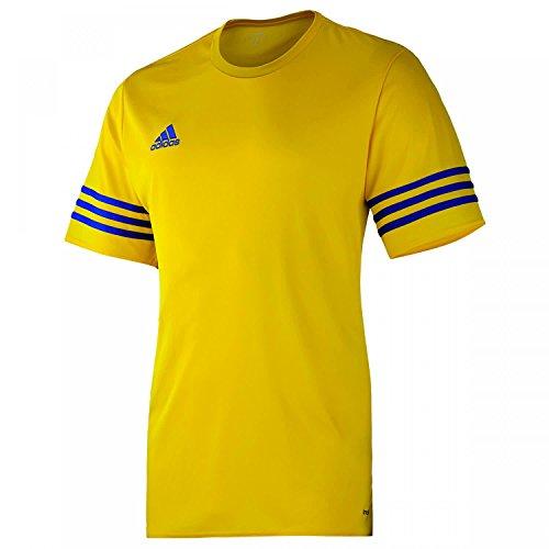 adidas Entrada 14 JSY, Camiseta para hombre, Amarillo (Sun/Cobalt), XL, F50489