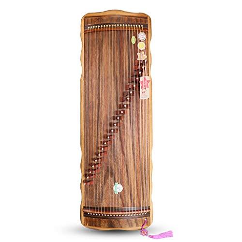 Guzheng mit dem gleichen Ton als Professional Guzheng, 21 Streicher, 98cm Kleiner Guzheng, Chinesisch Musikinstrument, geeignet for professionelle Leistung, Anfänger, mit einem kompletten Satz von Zub