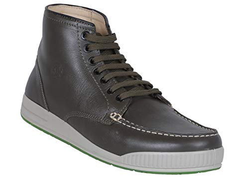 Woodland Men Olive Green Leather Trekking Boots-9 (OGB 2704117)