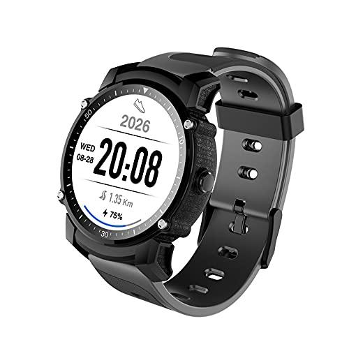 FS08 GPS reloj inteligente IP68 impermeable 4.0 ritmo cardíaco Monitoreo Fitness Tracker Multi-modo deportes Smartwatch