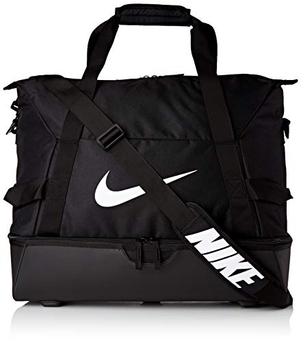 Nike Unisex Academy Team Hardcase Large Sporttasche, Black/Black/White, 50 x 33 x 41 cm (52 L)