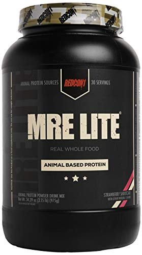 Redcon1 MRE Lite, Protein Meal Replacement (Peanut Butter Cookie)