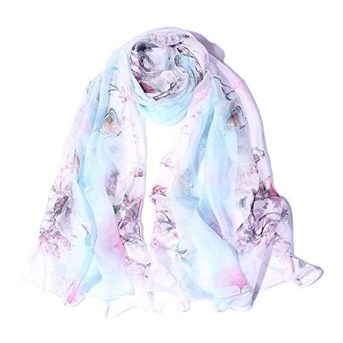 Udol Bufanda de Invierno cálido Bufandas Bufandas de Seda Impresas cómodo y práctico, Conveniente for el Recorrido/Oficina/Partido/de la Boda/Fecha/tamaño como un Regalo for el Encanto del Estilo