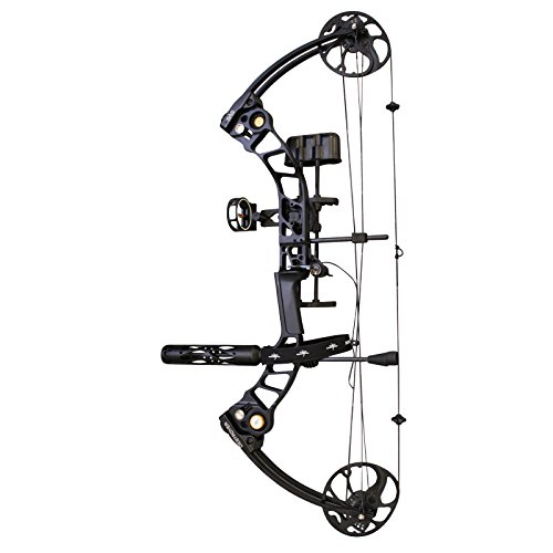 SAS Destroyer 19-55 lbs Archery Compound Bow ATA 31' (Black Pro Package)