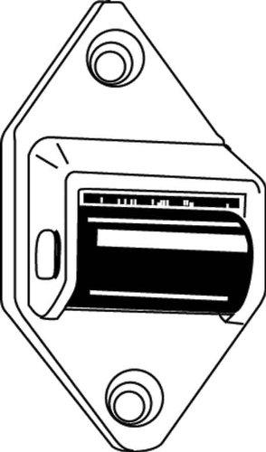 Rademacher 3590 Umlenkrolle für Rolladenkasten, 23 mm