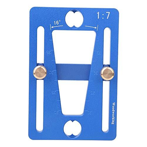 Guía de marcador de cola de milano de cola de milano, 1: 7 Tamaño Carpintería Regla de calibre de cola de milano, para herramientas de bricolaje para trabajar la madera