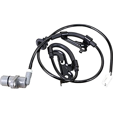 AIP Electronics ABS Anti-Lock Brake Wheel Speed Sensor Compatible Replacement For 1997-2005 Front Left Driver Oem Fit ABS160