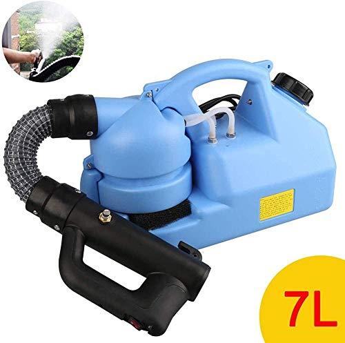Surfilter 7L Tragbare elektrische ULV-Thermo-Nebelmaschine Maschinendesinfektions-Nebelmaschinen-Sprühgerät zur Desinfektion von Rasenflächen, Gärten und Fabriken