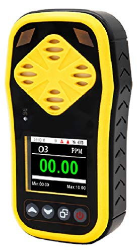 Detector medidor Analizador Digital ozono O3 portátil Alta precisión 0.00-10.00 PPM Almacenamiento de Datos