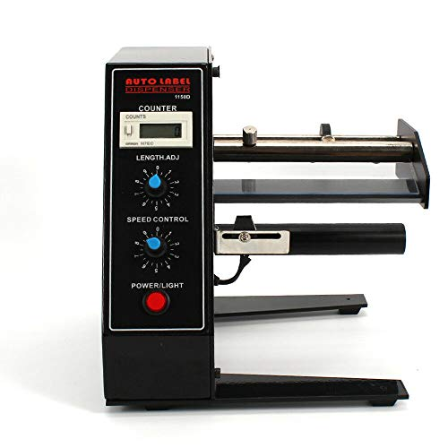 YIYIBY Dispensador automático de etiquetas Etiquetas Máquina de pelado rectangular Máquinas de etiquetado 220V 50HZ