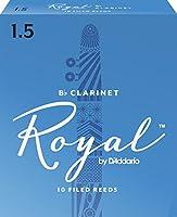 Rico Anches Rico Royal pour clarinette si bémol, force 1.5, pack de 10