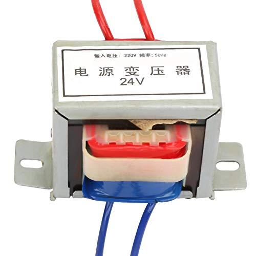 Bediffer - Transformador de potencia de baja frecuencia 50 Hz del transformador de aislamiento 220 V-24 V para electrónica
