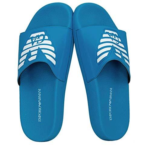 Emporio Armani Ciabatte slippers uomo mare piscina beachwear articolo X4PS01 XL828 SLIPPER