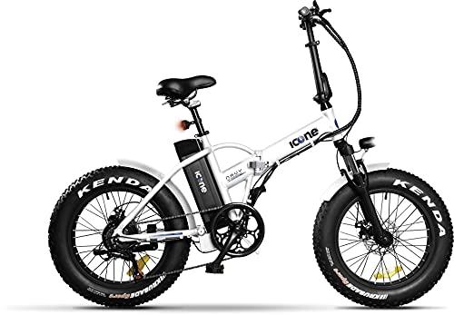 Icon.e Bici Elettrica Pieghevole Navy