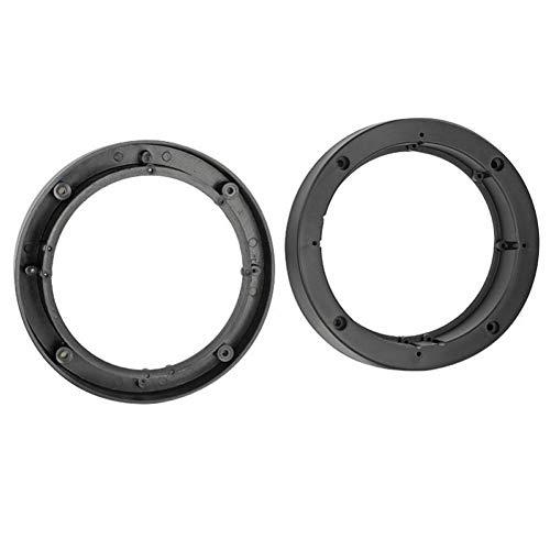 2 Entretoises Haut-Parleur universelles D152165mm - Noir ADNAuto