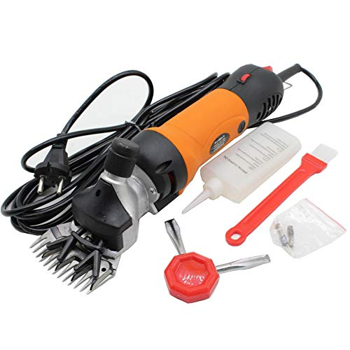 Find Bargain QWERTOUR 220 V - 240 V 690W Flexible Shaft Electric Sheep Goat Shearing Machine Clipper...