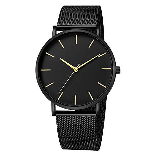Hansee Herren-Armbanduhr, Legierung, elegant, klassisch, minimalistisch, Geschenk Gr. Einheitsgröße, h