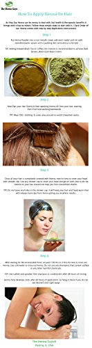 3 Packs of Burgundy Red Henna Hair & Beard Color/Dye 100 Grams - Chemicals Free Hair Color - The Henna Guys