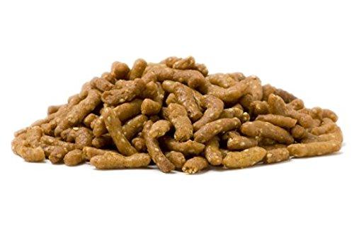 Anna and Sarah Sesame Sticks, Honey Roasted Sesame Stick Snacks in Resealable Bag, 2 Lbs