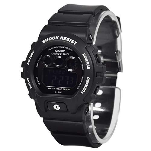 『CASIO カシオ 腕時計【g-shock mini】GMN-691-1AJF BLACK [時計]』の1枚目の画像