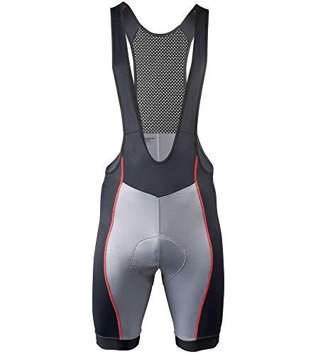AERO|TECH|DESIGNS Elite Endurance Bib Shorts - Made in The USA (XX-Large, Gray)