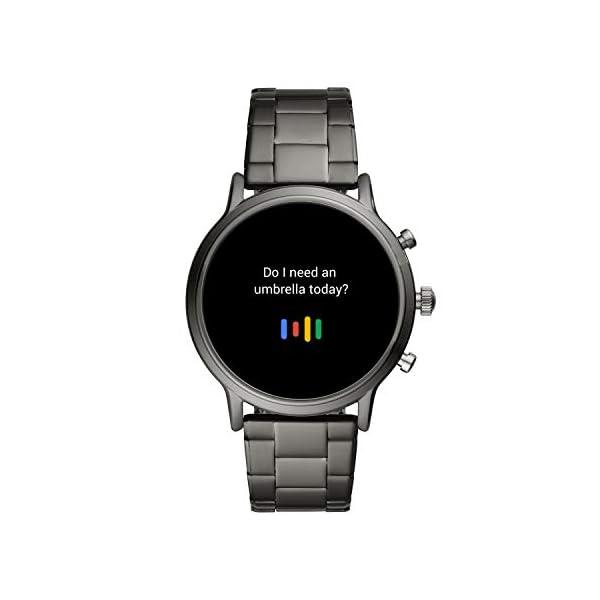 Fossil Smartwatch Gen 5 para Hombre con pantalla táctil, altavoz, frecuencia cardíaca, GPS, NFC y notificaciones… 4