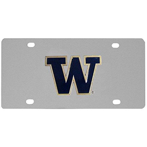 Siskiyou NCAA Washington Huskies Steel License Plate