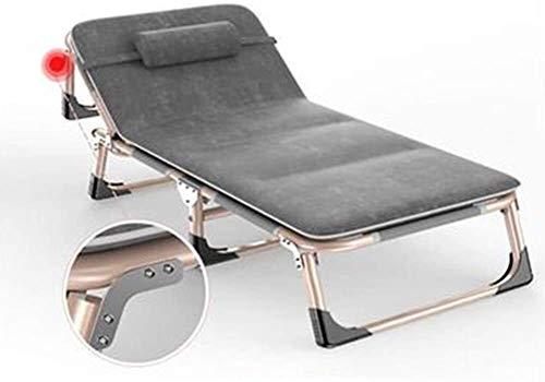 Silla camping plegable sillas plegables camping Plegables jardín Tumbona reclinable silla de playa con almohada original de festivales jardín viajes caravanas pesca de playa caminando al aire libre