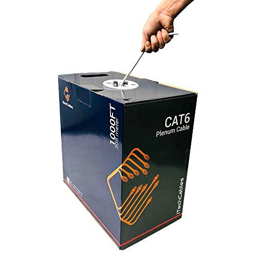 1000 ft cat6 cable plenum - 4