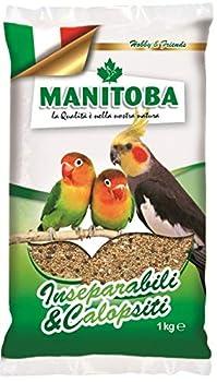 Nourriture Mélange perroquets 4 kg inséparables et calopsittes