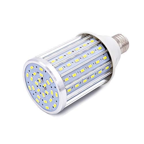 Bombilla LED E27, 35W LED maíz Bombilla 6500K Blanco Frío, 350W Incandescente Bombillas Equivalentes 3450lm 104x5630SMD No Regulable, Edison Bombillas de maíz (35W Blanco frío)