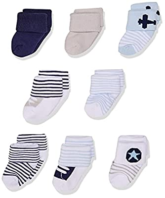 Luvable Friends Unisex Baby Newborn and Baby Terry Socks