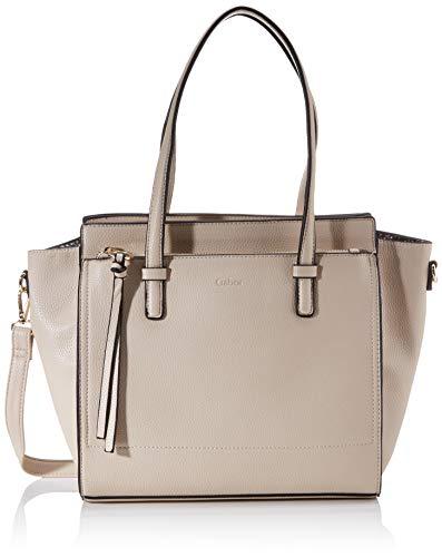 Gabor bags Umhängetasche Damen Rosaria, Beige, M, Handtasche, Tasche Damen